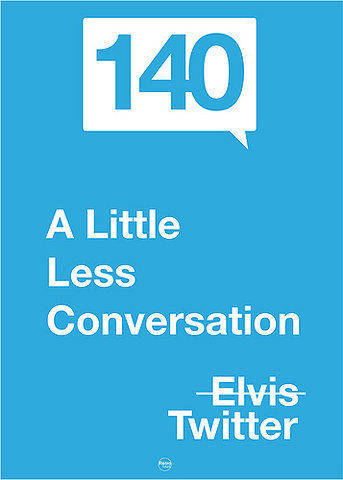 A little Less Conversation | Elvis | Twitter